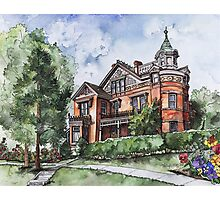 Armstrong Mansion Photographic Print