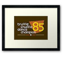Dance Champ Framed Print