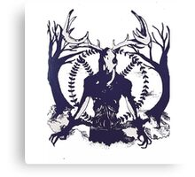Peaceful Creature Canvas Print