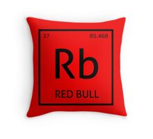 Element Rb - Red Bull Throw Pillow