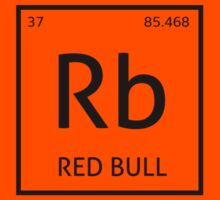Element Rb - Red Bull by Christopher Smith