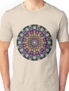 COLORFUL PSYCHEDELIC MANDALA Unisex T-Shirt