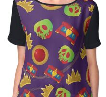 Evil Queen Icons Chiffon Top
