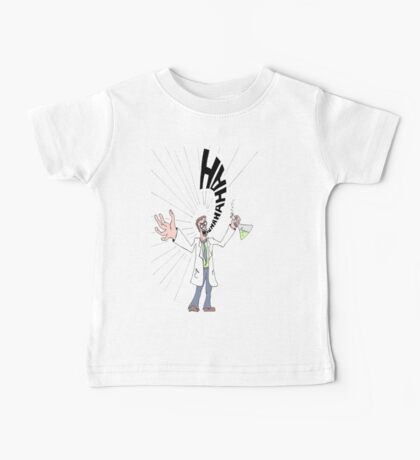 Mad Scientist Baby Tee