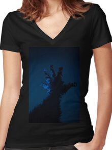 Twisted Reality Women's Fitted V-Neck T-Shirt