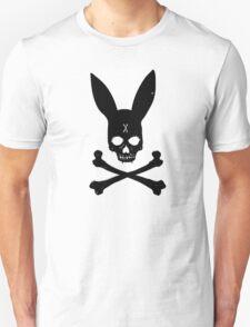 Bunny Bones (Black) Unisex T-Shirt