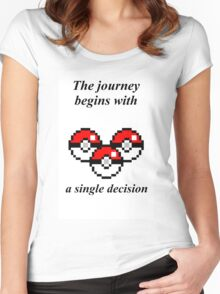 The Journey Women's Fitted Scoop T-Shirt