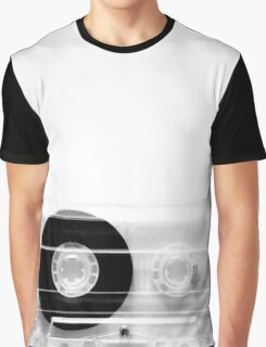cassette  illustration - black and white tape  Graphic T-Shirt