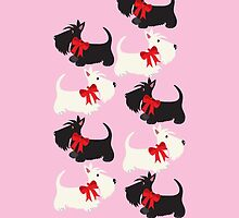 Scottie Dog iPhone/iPod case – pink by BonniePortraits