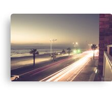Cape Town at Night Canvas Print