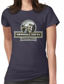 Newhall Ice Co. Womens Fitted T-Shirt