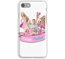 Trixie Mattel sticker iPhone Case/Skin