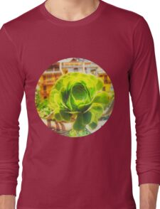Succulent Manali Himalaya Long Sleeve T-Shirt
