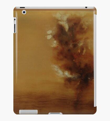 Misty Morning on the Chattahoochee, encaustic on wood iPad Case/Skin