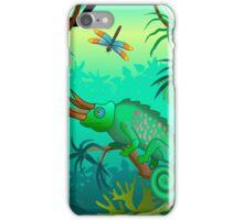 Chameleon scene iPhone Case/Skin
