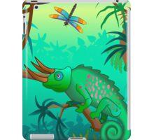 Chameleon scene iPad Case/Skin