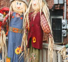 The Scarecrows Come to Town Sticker