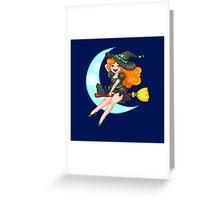 Petite Sorciere Greeting Card