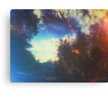 Blue Cedarwood View Canvas Print