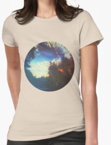 Blue Cedarwood View Womens Fitted T-Shirt