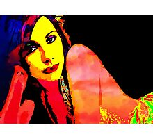 PJ HARVEY POP ART Photographic Print