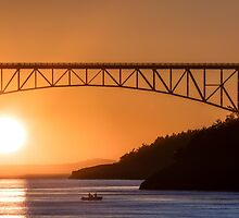 Deception Pass Final Sunset Summer 2016 (1) by Jim Stiles