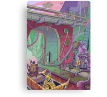 City Depths Canvas Print