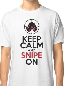 Keep Calm and Snipe On Classic T-Shirt