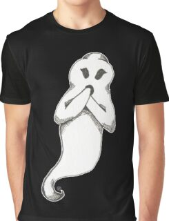 Surprised Ghostage Graphic T-Shirt