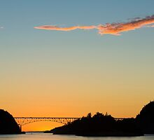 Deception Pass Final Sunset Summer 2016 (3) by Jim Stiles