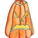 Grumpy Pumpkin by Amy-Elyse Neer