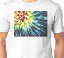 Abstract Dark Tie Dye Unisex T-Shirt