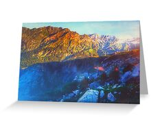 Himalaya Mountain View Greeting Card