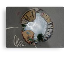 Carrick Crossroads, Donegal - Sky In Metal Print