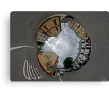 Carrick Crossroads, Donegal - Sky In Canvas Print