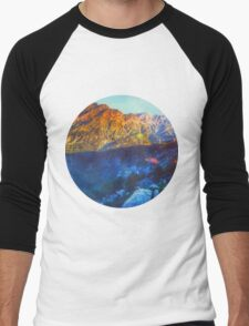 Himalaya Mountain View Men's Baseball ¾ T-Shirt
