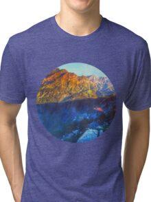 Himalaya Mountain View Rohtang  Tri-blend T-Shirt
