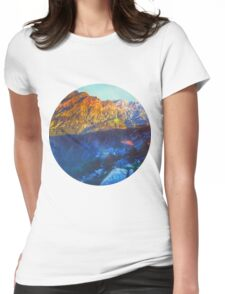 Himalaya Mountain View Rohtang  Womens Fitted T-Shirt