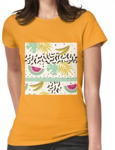 Summer crazy Womens Fitted T-Shirt