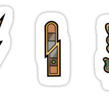 Pokemon - Unova League: Unova Badges 1 Sticker