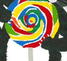 Lollipop cat Sugar Sticker