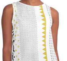 Abstract crazy Contrast Tank