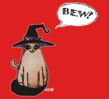 Witch Kitty Says BEW! One Piece - Short Sleeve