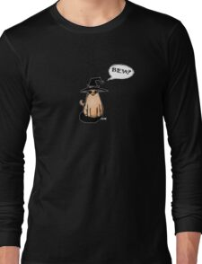 Witch Kitty Says BEW! Long Sleeve T-Shirt