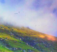 Mountaintop Rohtang Himalaya Sticker
