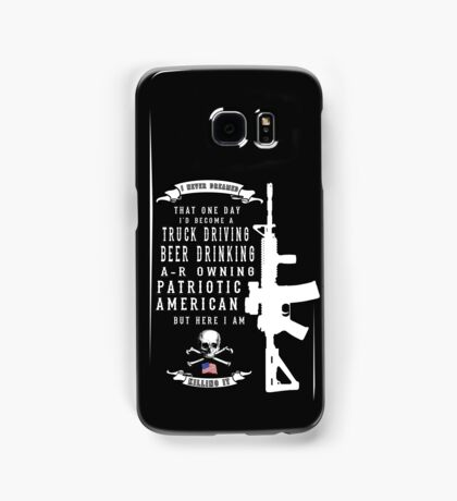 American Patriot Samsung Galaxy Case/Skin