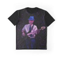 Blue Hat Bluesman Graphic T-Shirt
