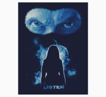 Listen - Twelfth Doctor - Blue (Sticker) by ifourdezign