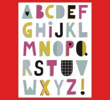 Super alphabet One Piece - Short Sleeve