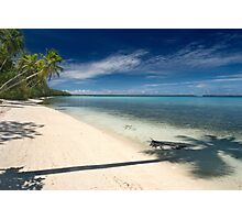 And Atoll Shoreline - Pohnpei, Micronesia Photographic Print